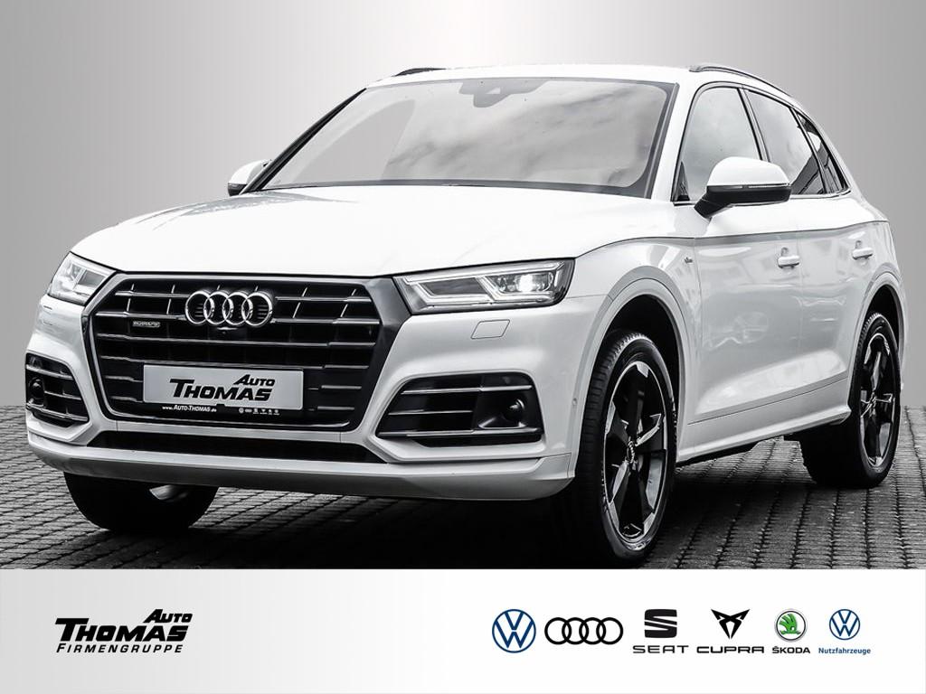 """Audi Q5 """"S line"""" 3.0 TDI quattro Tiptronic MATRIX+ACC, Jahr 2018, diesel"""