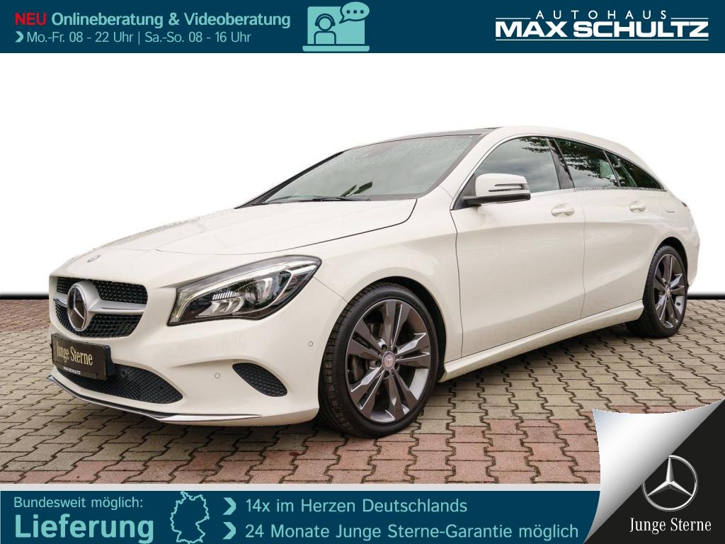 Mercedes-Benz CLA 180 SB DISTR.*PANO-SD*AHZV*LED*RFK*TWA*NAVI*, Jahr 2016, Benzin