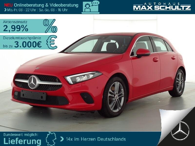 Mercedes-Benz A 250 PROGRESSIVE*AHK*LED*NAVI-PREM*KAMERA*MBUX, Jahr 2019, Benzin