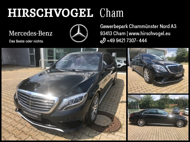 Mercedes-Benz S 63 AMG 4M lang DRIVERS-PACKAGE+TV+Pano+DISTRON, Jahr 2016, petrol