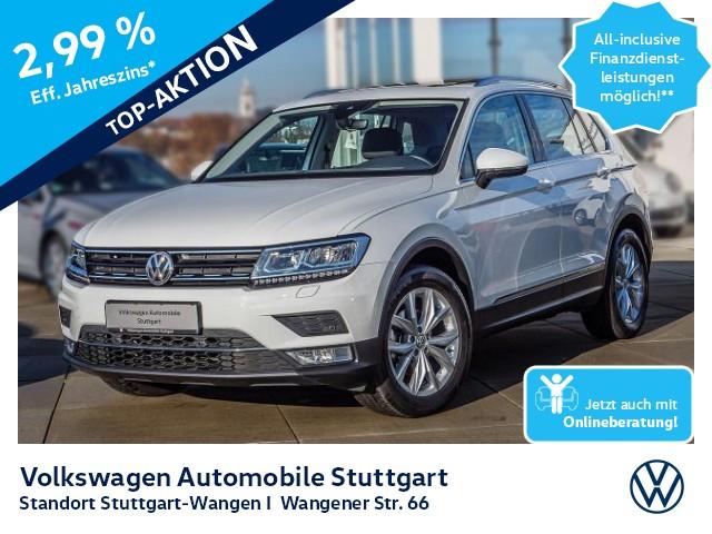Volkswagen Tiguan 2.0 TDI Sound Navi ACC LED P-Dach, Jahr 2016, Diesel