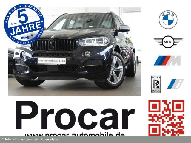 BMW X5 M50d M-Sport HuD Pano Da+ H/K Sitzlüft AHK, Jahr 2017, Diesel