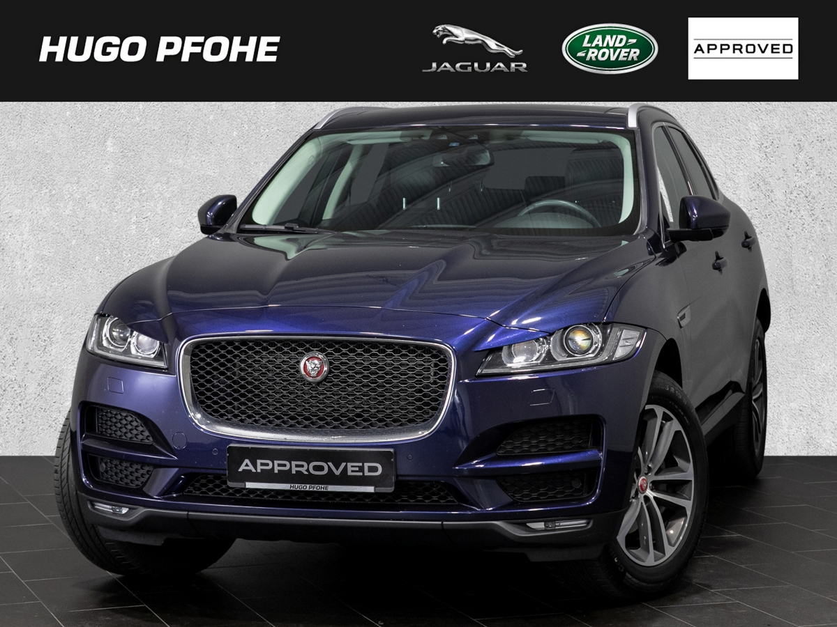Jaguar F-PACE Prestige 20d AWD Aut.Panorama-Schiebedach, Jahr 2017, Diesel
