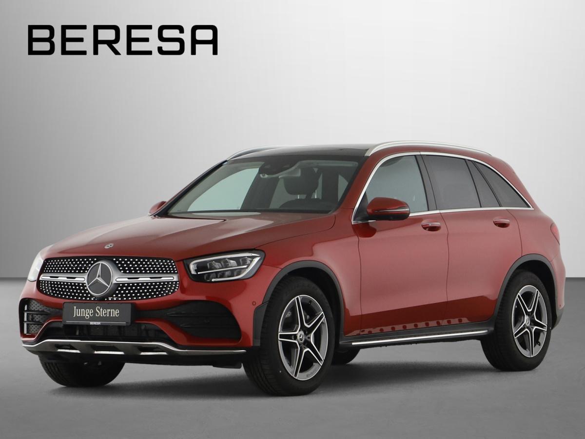 Mercedes-Benz GLC 300 4M AMG Sitzklima HUD Burmester, Jahr 2020, Benzin