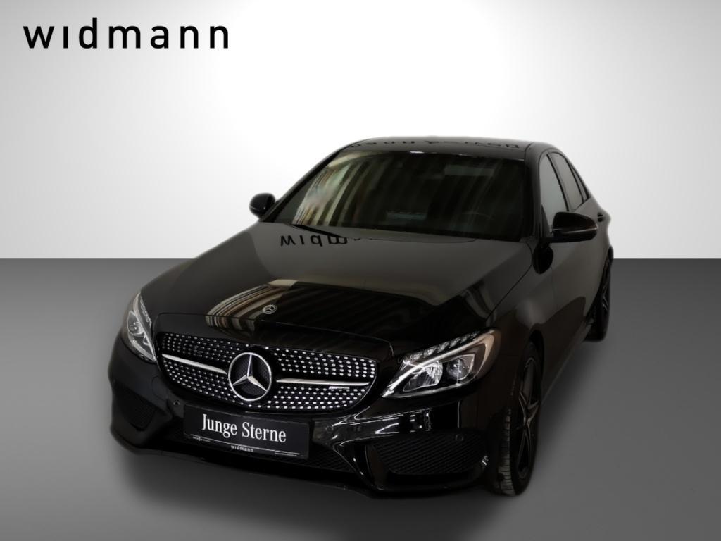 Mercedes-Benz C 43 AMG 4M Comand*Pano.-Dach*HUD*LED*Kamera*PDC, Jahr 2017, Benzin