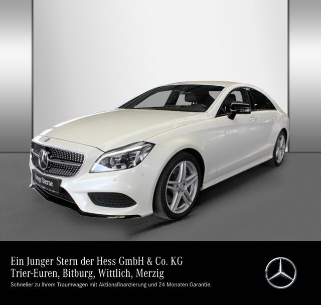 Mercedes-Benz CLS 350 d Coupé AMG+Sitzklima+Comand+Fahrassist., Jahr 2015, Diesel