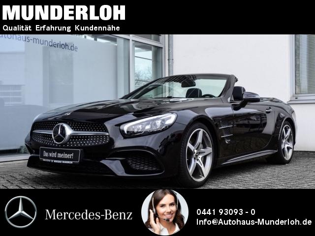 Mercedes-Benz SL 400 AMG Line Bang&Olufsen MAGIC SKY Massage T, Jahr 2018, petrol