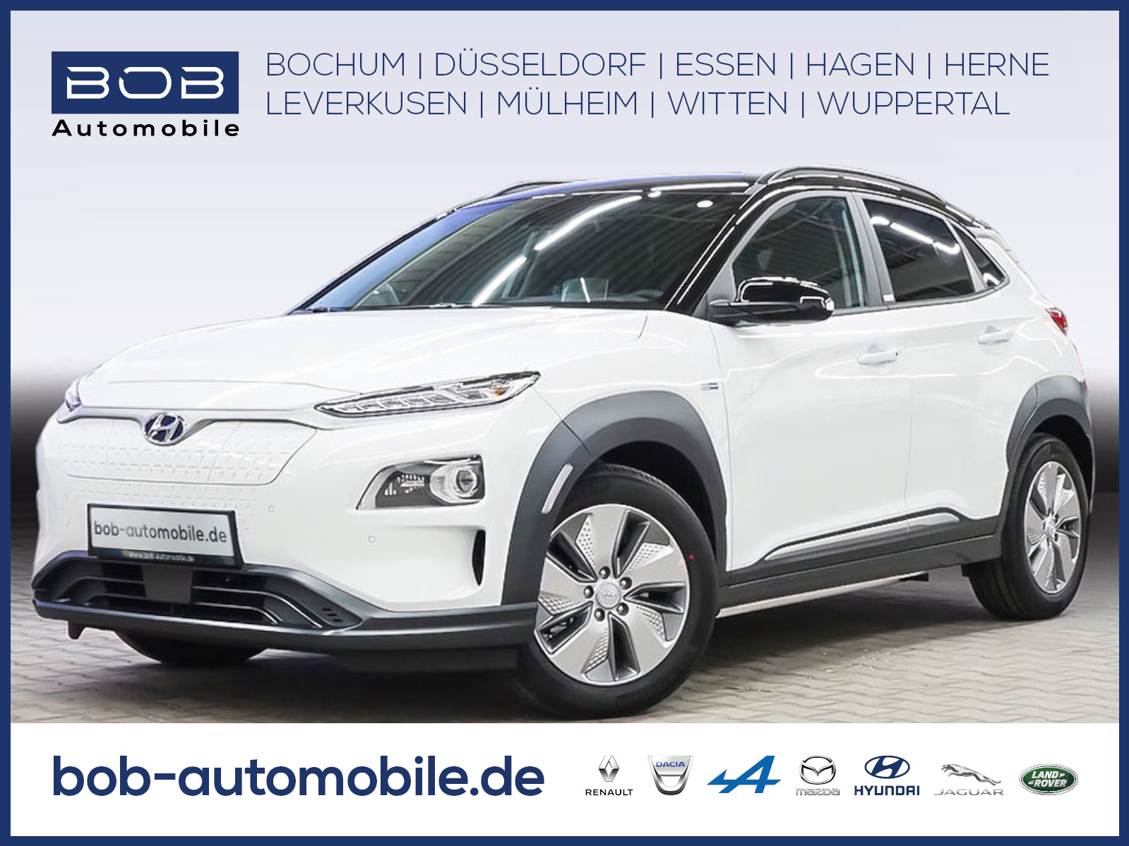 Hyundai Kona Electro STYLE NaviP AssistenzP Teilleder, Jahr 2020, Elektro