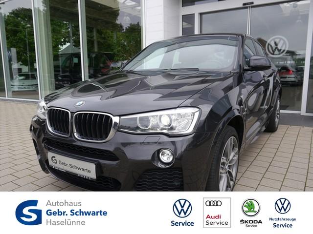 BMW X4 xDrive 20d A M-Sportpaket AHK+PANO+XENON+NAVI, Jahr 2015, Diesel