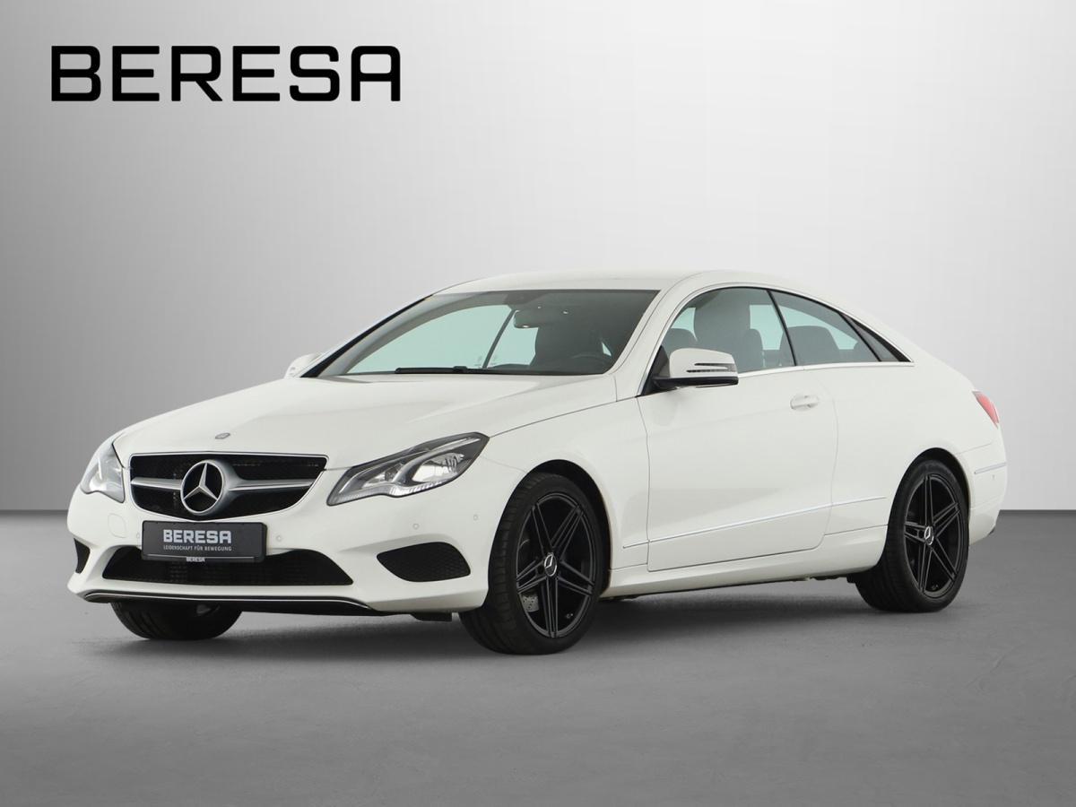 Mercedes-Benz E 200 Coupé Sportpaket SHZ LED PDC Klima Navi, Jahr 2016, Benzin