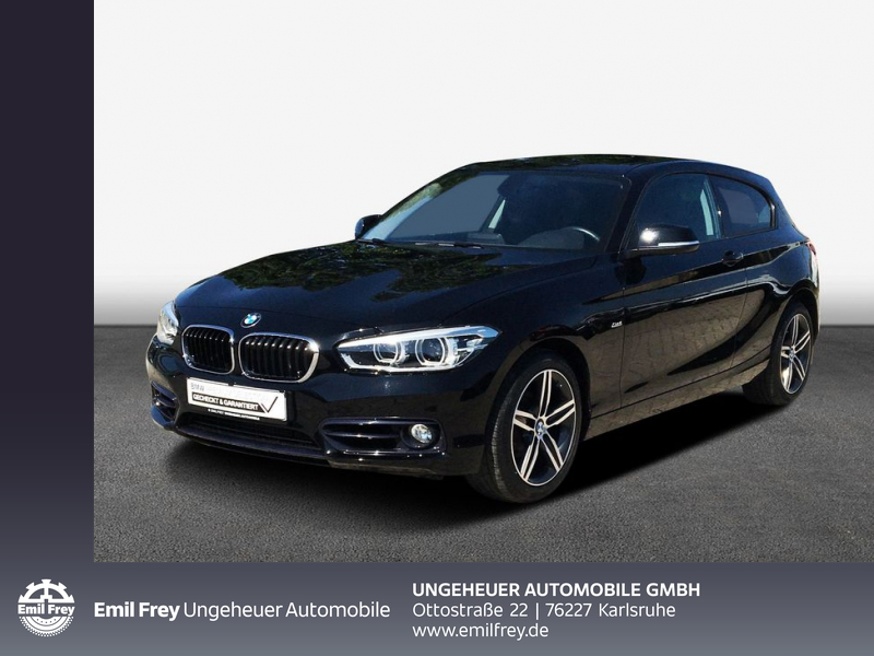 BMW 118d 3-Türer Sport Line Navi LED Tempomat USB Sh, Jahr 2016, Diesel