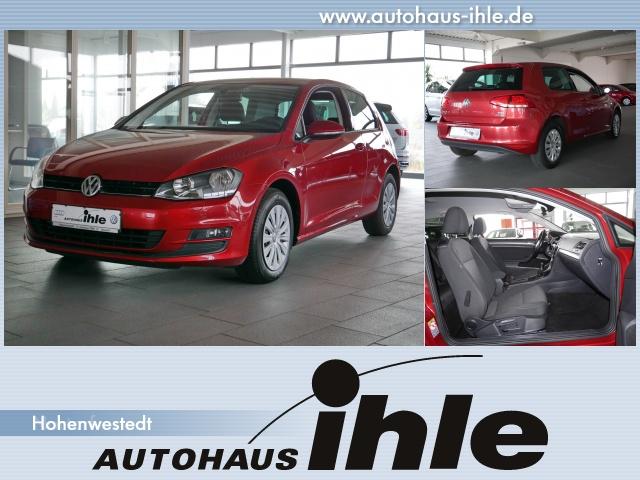 Volkswagen Golf VII 1,2 TSI Trendline ParkAssist+SHZ+BT+TFL, Jahr 2013, Benzin