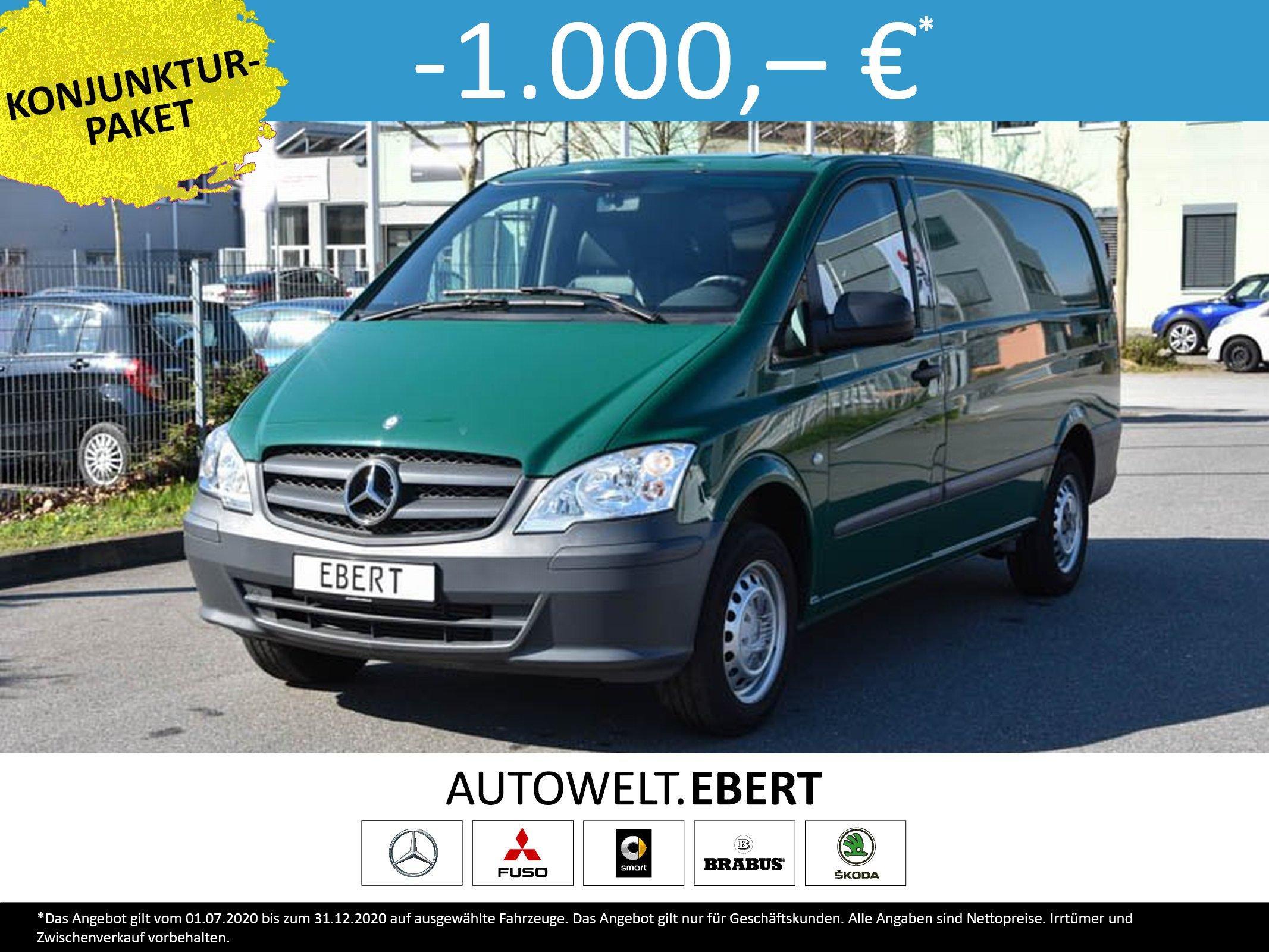 Mercedes-Benz Vito 113 CDI Kasten Lang Holzb. Kunstleder 58TKM, Jahr 2014, Diesel