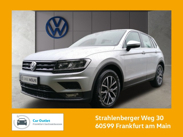 Volkswagen Tiguan 1.5 TSI Comfortline Einparkhilfe Navi AHK Leichtmetallfelgen Tiguan 1.5actCLOPFFR 110TSIM6F, Jahr 2020, Benzin