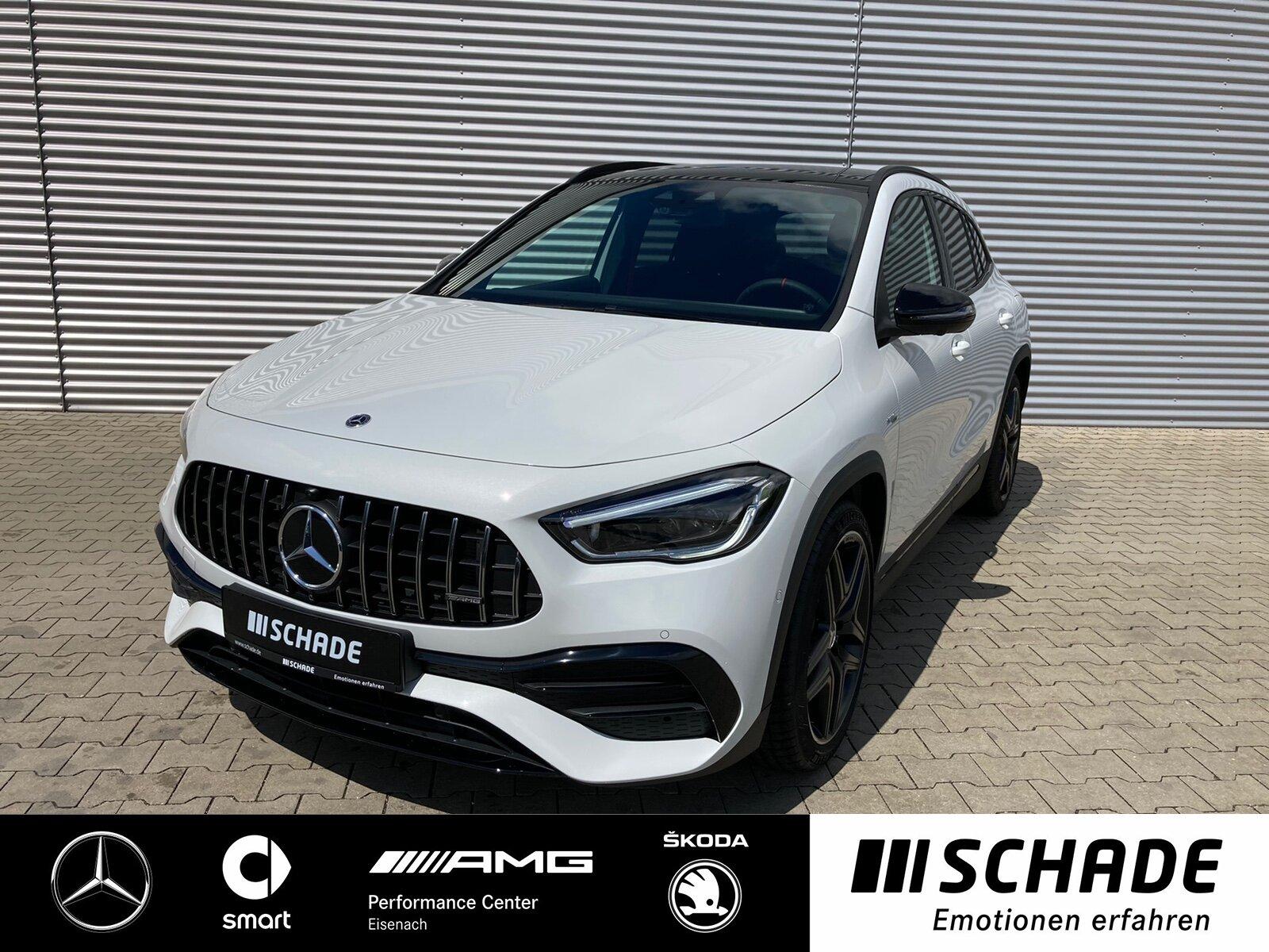 Mercedes-Benz GLA 35 AMG 4 MATIC MULTIBEAM*AHK*360°*Panoramad., Jahr 2021, Benzin