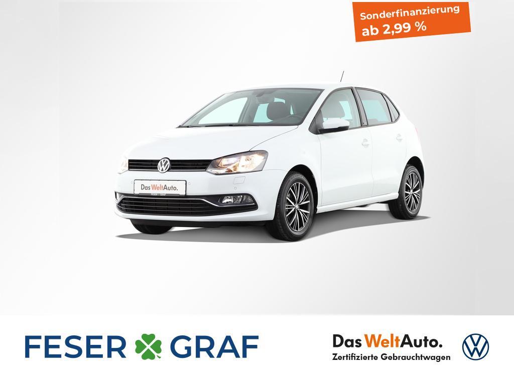 Volkswagen Polo 1.0 Allstar PDC Sitzheizung Navigationssyst, Jahr 2017, Benzin