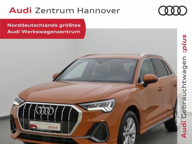 Audi Q3 Design Sline 35 TDI Matrix ACC virtual Teilleder AHK, Jahr 2019, Diesel