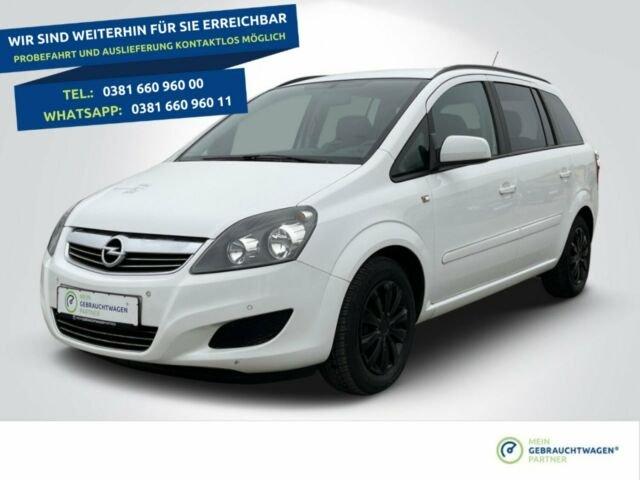 Opel Zafira Family+7 Sitzer+SHZ+PDC, Jahr 2014, Benzin