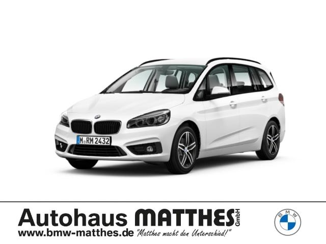 BMW 218 Gran Tourer i Sport Line LED Navi El. Heckklappe LED-Tagfahrlicht Multif.Lenkrad RDC, Jahr 2018, Benzin