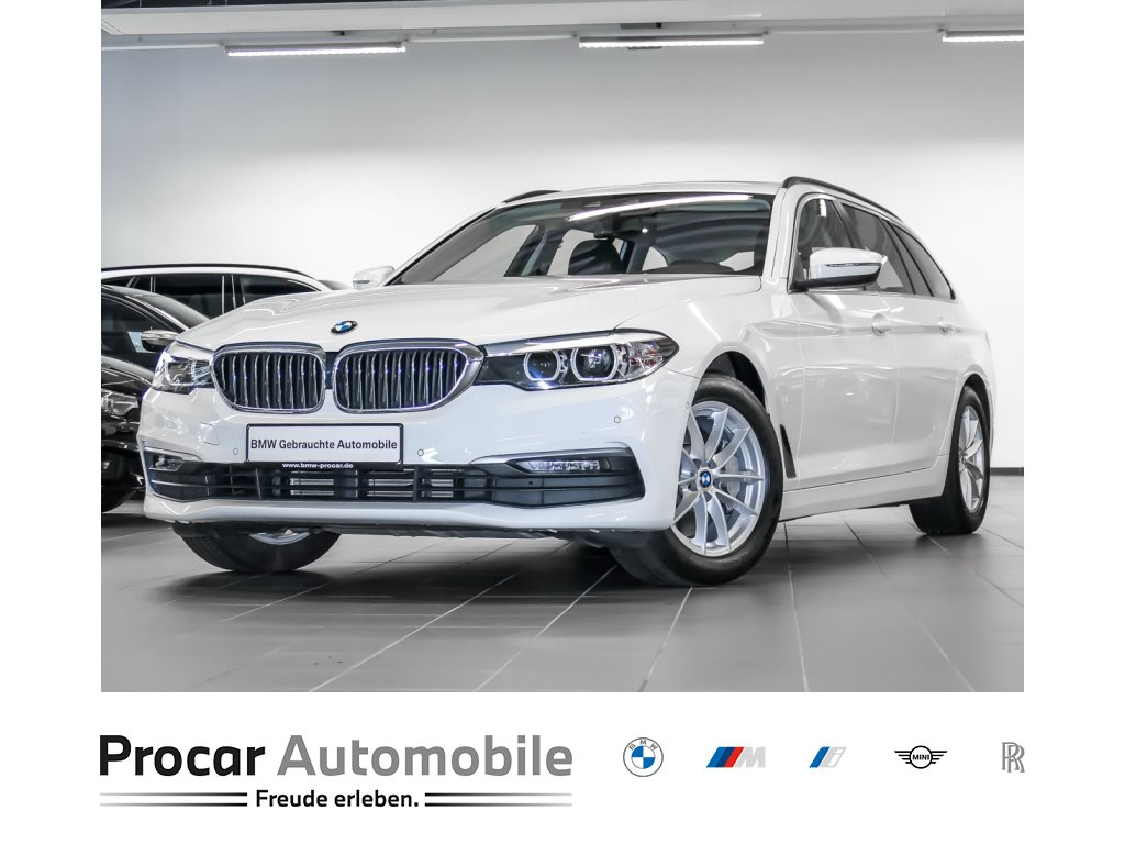 BMW 530d xDrive Touring HiFi LED SHZ AHK Standh. Navi Prof., Jahr 2018, Diesel