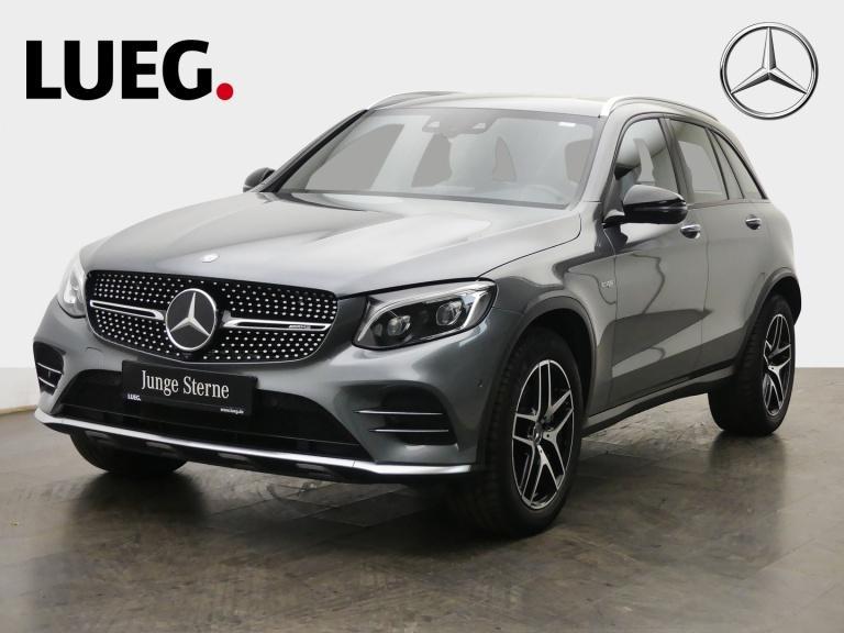Mercedes-Benz GLC 43 AMG 4M Comand+Fahrassist.+360°+LED+Memory, Jahr 2016, Benzin