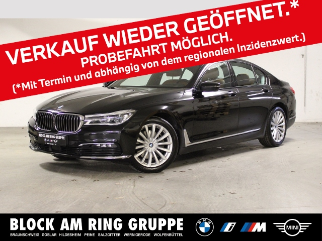 BMW 730d Limousine GSD 360 PA DA+ HUD Laser, Jahr 2019, Diesel