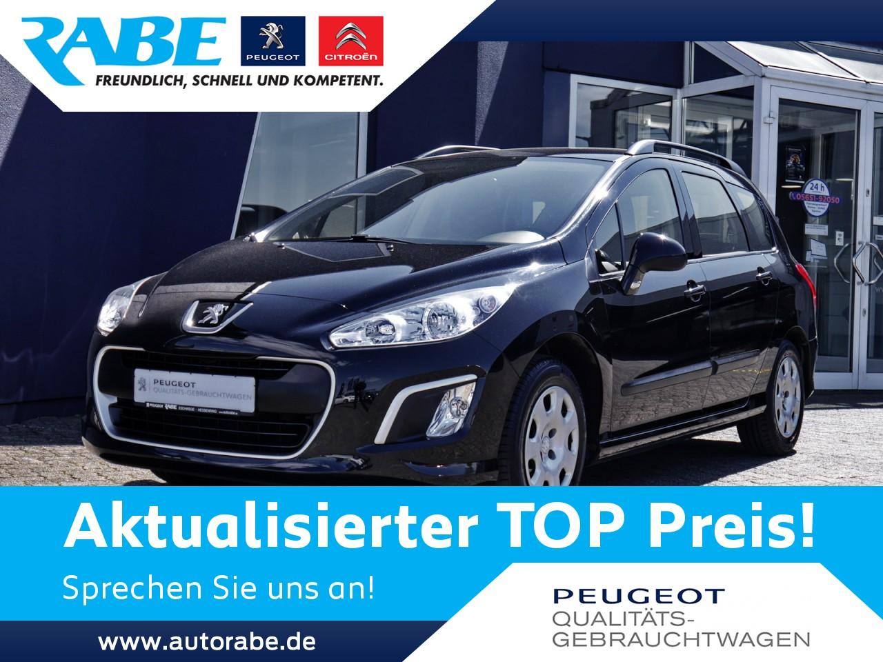 Peugeot 308 SW Access 120 VTi Anhängerkupplung+Klima+SHZ, Jahr 2012, Benzin