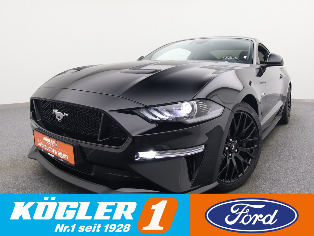 Ford Mustang GT Coupe V8 450PS Aut./Carbon-Styling-P., Jahr 2019, Benzin