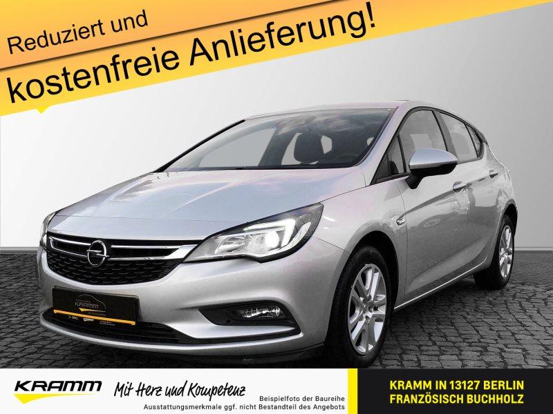 Opel Astra Edition 1.0 Turbo PDCv+h LED-Tagfahrlicht Multif.Lenk, Jahr 2016, Benzin