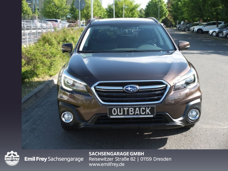 Subaru Outback 2.5i CVT Sport mit NAVI Leder PDC, Jahr 2019, petrol
