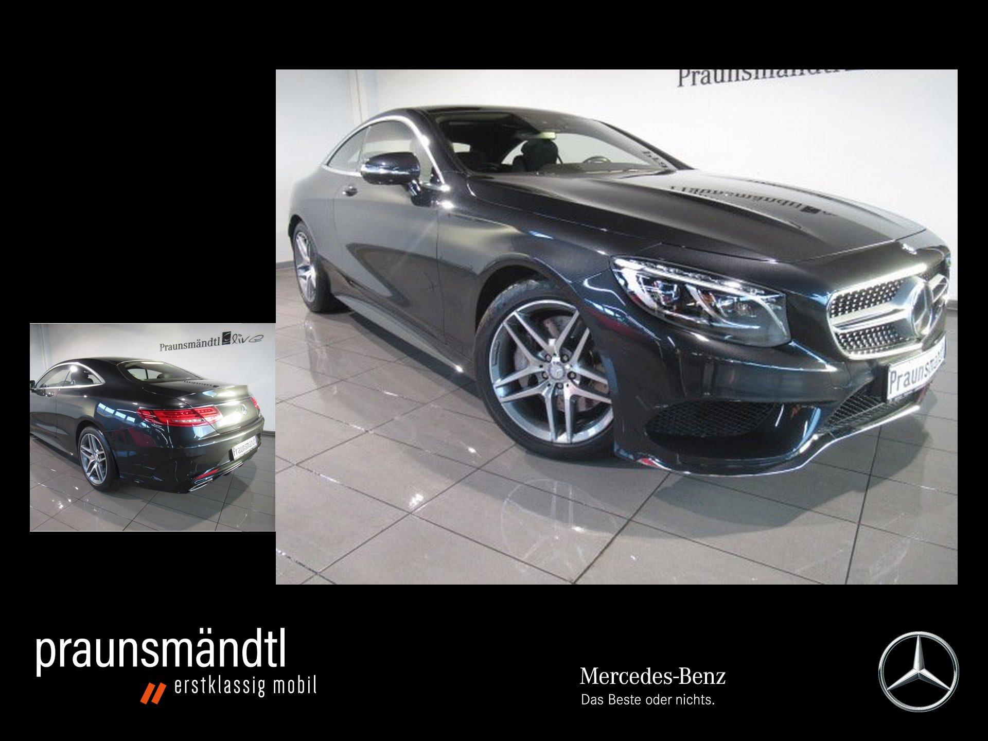 Mercedes-Benz S 500 4M CP AMG LED/360°/HeadUP/Distr/Burmester, Jahr 2016, Benzin