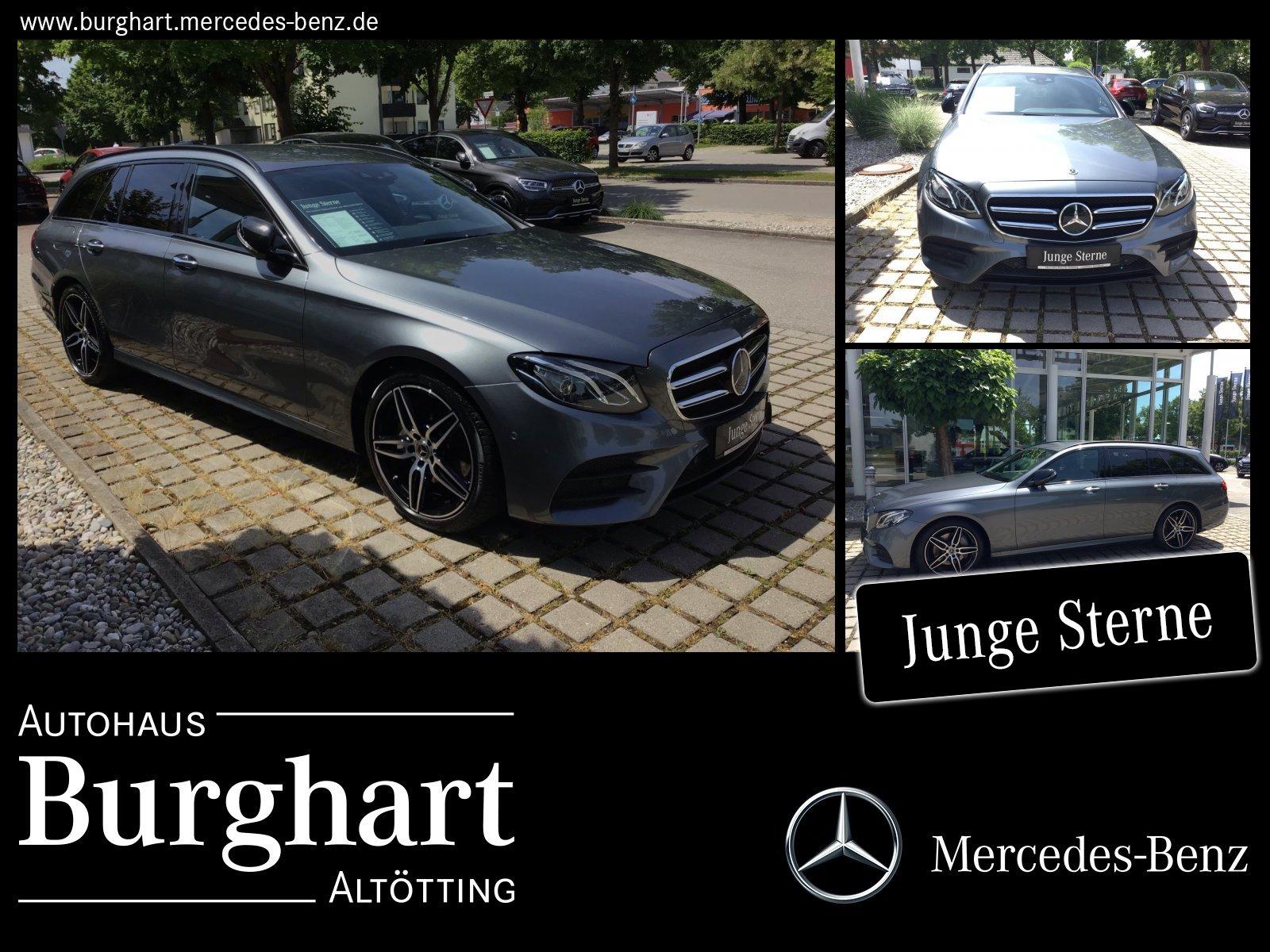Mercedes-Benz E 300 T d AMG Line Night/COMAND/Widescreen/Distr, Jahr 2018, Diesel