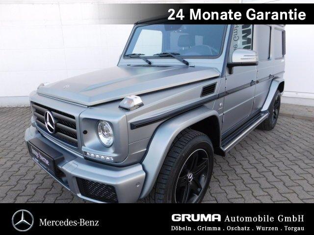 Mercedes-Benz G 500 lang *Limited Edition* AHZV+STANDHZG+DESIG, Jahr 2018, petrol