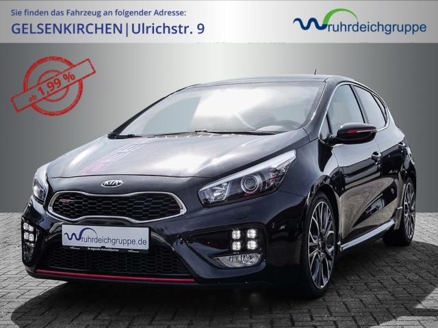 Kia Cee'd GT-Track 1.6 T-GDi Keyless Navi Rückfahrkam. Panoramadach, Jahr 2014, Benzin