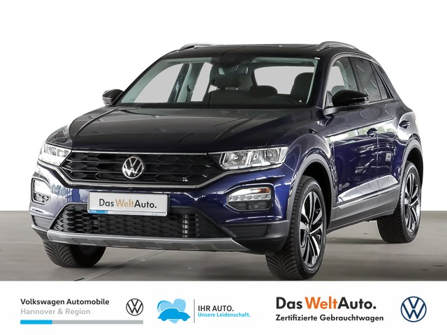 Volkswagen T-ROC 1.5 TSI DSG UNITED Navi Pano Klima el.Heckklappe Kamera, Jahr 2020, Benzin