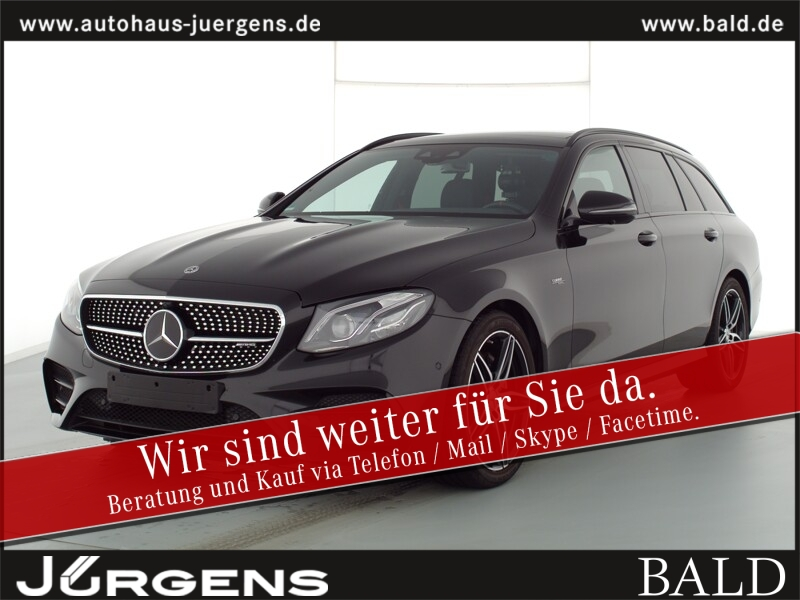 Mercedes-Benz E 53 AMG 4M+ T Comand/Wide/ILS/360/Pano/Stdhz/19, Jahr 2019, Benzin