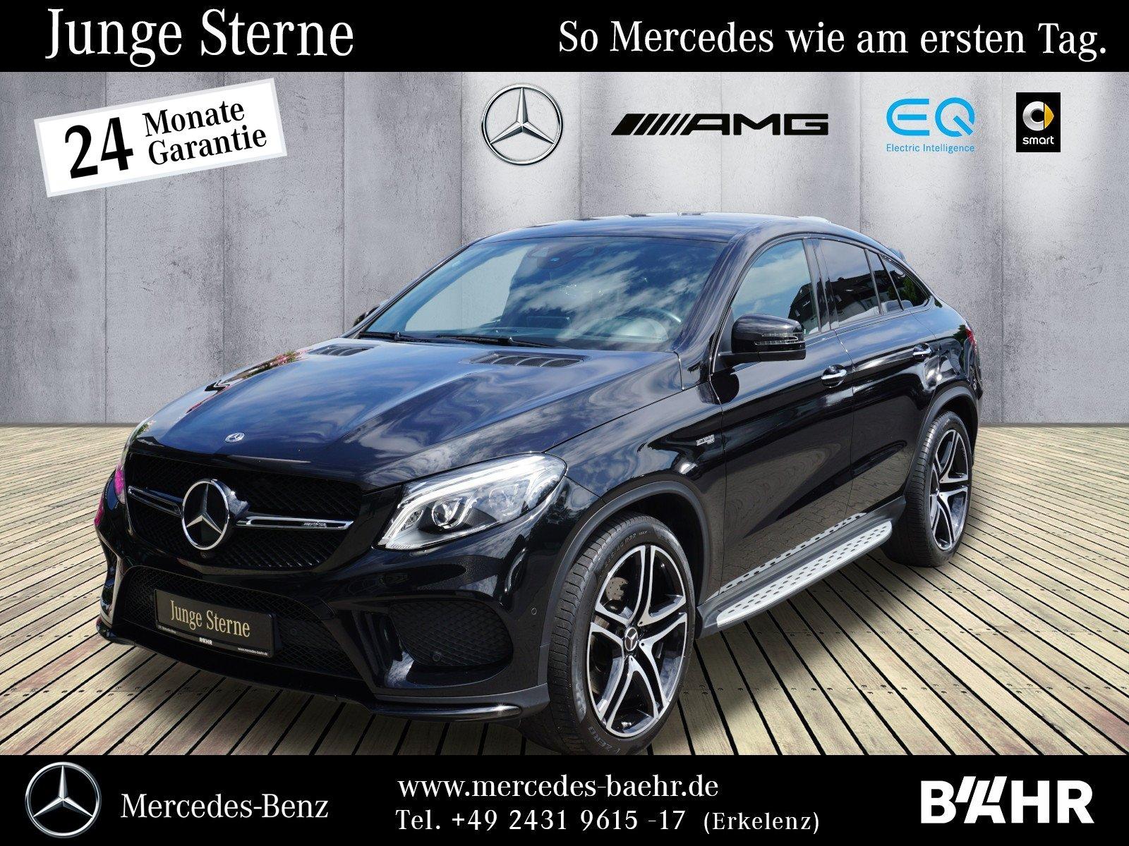 """Mercedes-Benz GLE 43 AMG 4M Coupé Night/Comand/LED-ILS/LMR-22"""", Jahr 2017, petrol"""