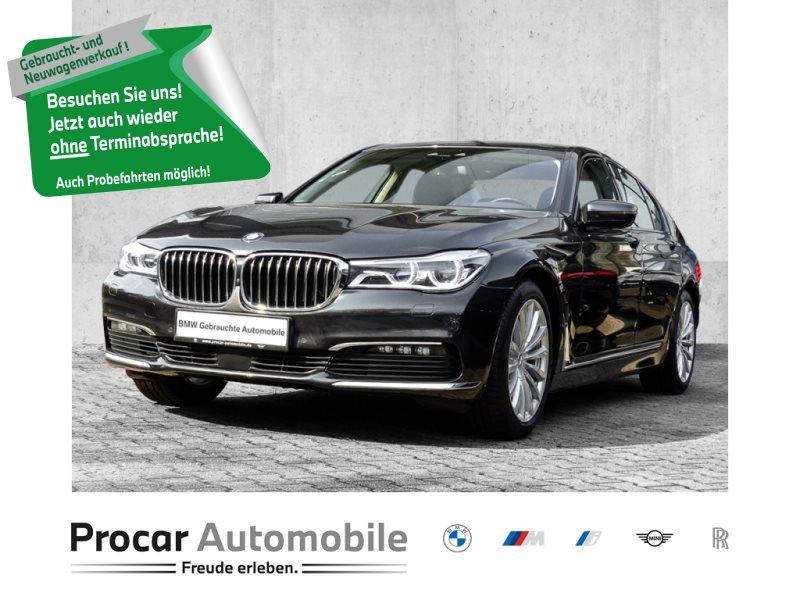 BMW 740d xDrive HUD+LASER+DRIVINGASSISTPLUS+INNOVATIONSPAKET, Jahr 2017, Diesel