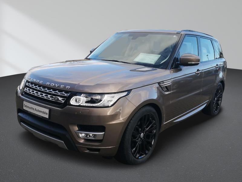 Land Rover Range Rover Sport 3.0 TDV6 HSE Navi Xenon AHK 21 Alu, Jahr 2016, Diesel