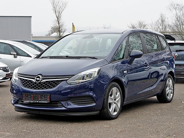 Opel Zafira Edition 2.0 CDTI Navi Fernlichtass. PDCv+h LED-Tagfahrlicht RDC Klimaautom SHZ, Jahr 2016, Diesel