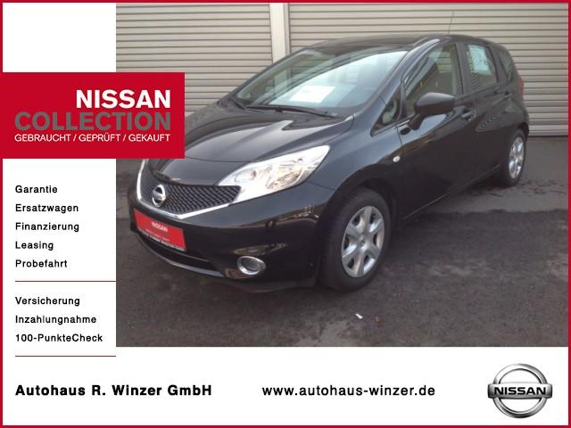 Nissan Note Visia Klima, Bluetooth, Tempomat, Jahr 2015, Benzin