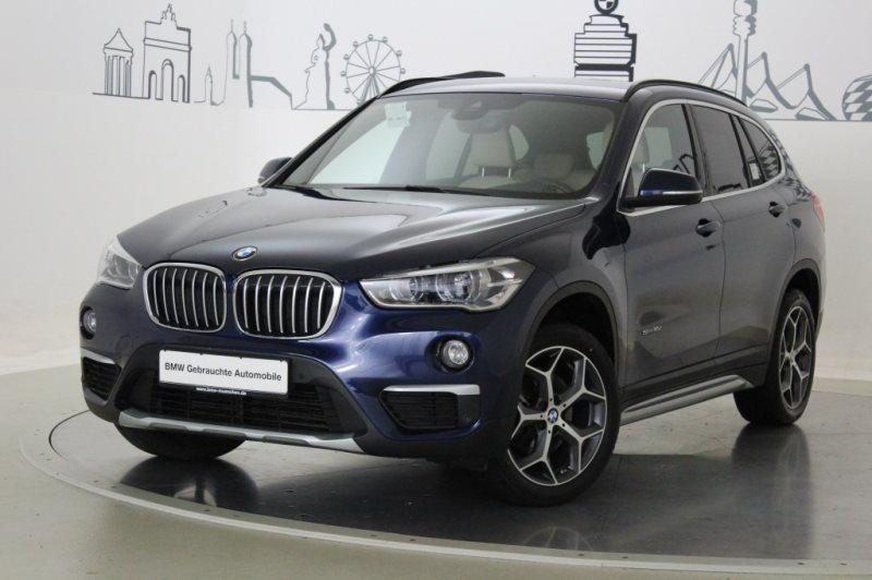 BMW X1 sDrive18d xLine HiFi DAB LED RFK Navi Shz EURO 6, Jahr 2017, Diesel
