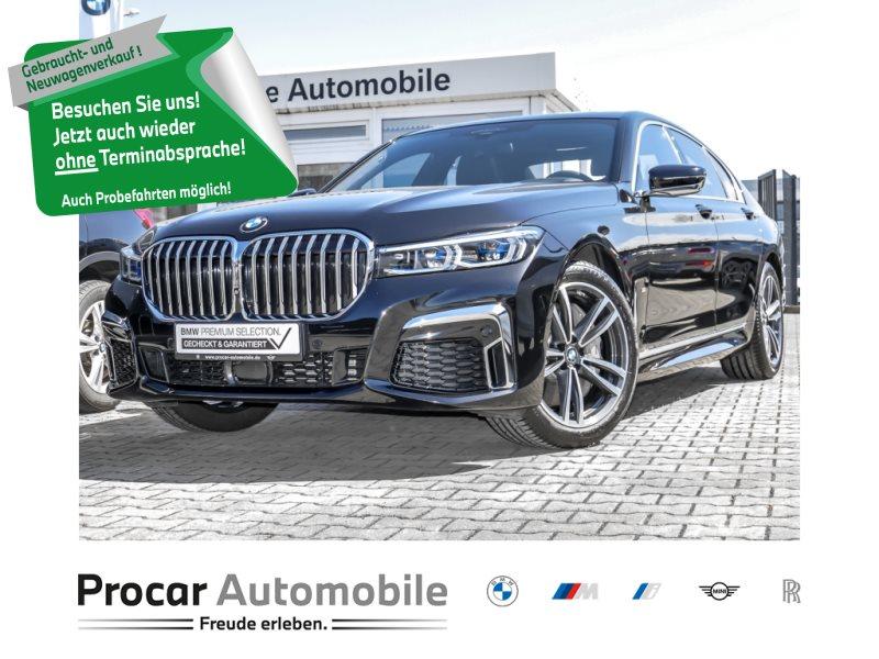 BMW 740d xDrive M SPORT DA PROF. HUD LASER H/K GLASD, Jahr 2019, Diesel