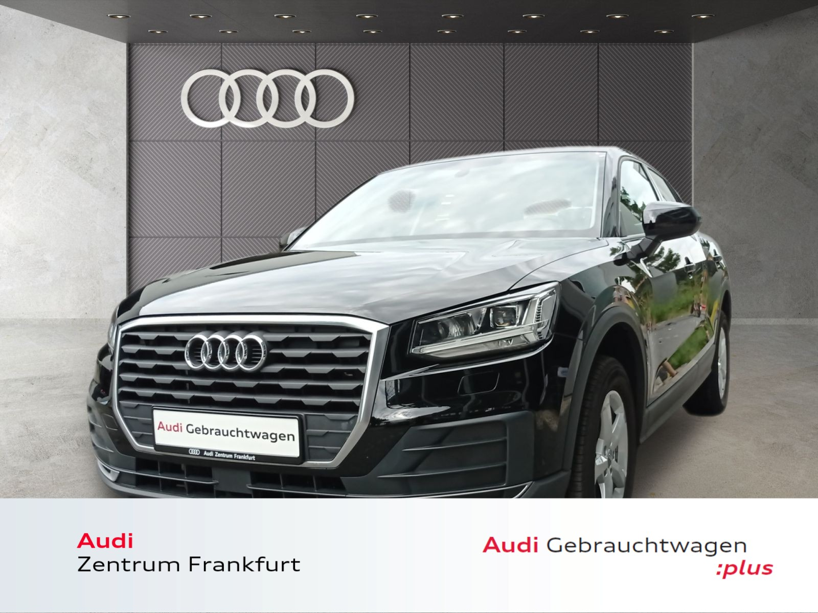Audi Q2 1.4 TFSI LED PDC Klima Bluetooth Sitzheizung, Jahr 2018, Benzin