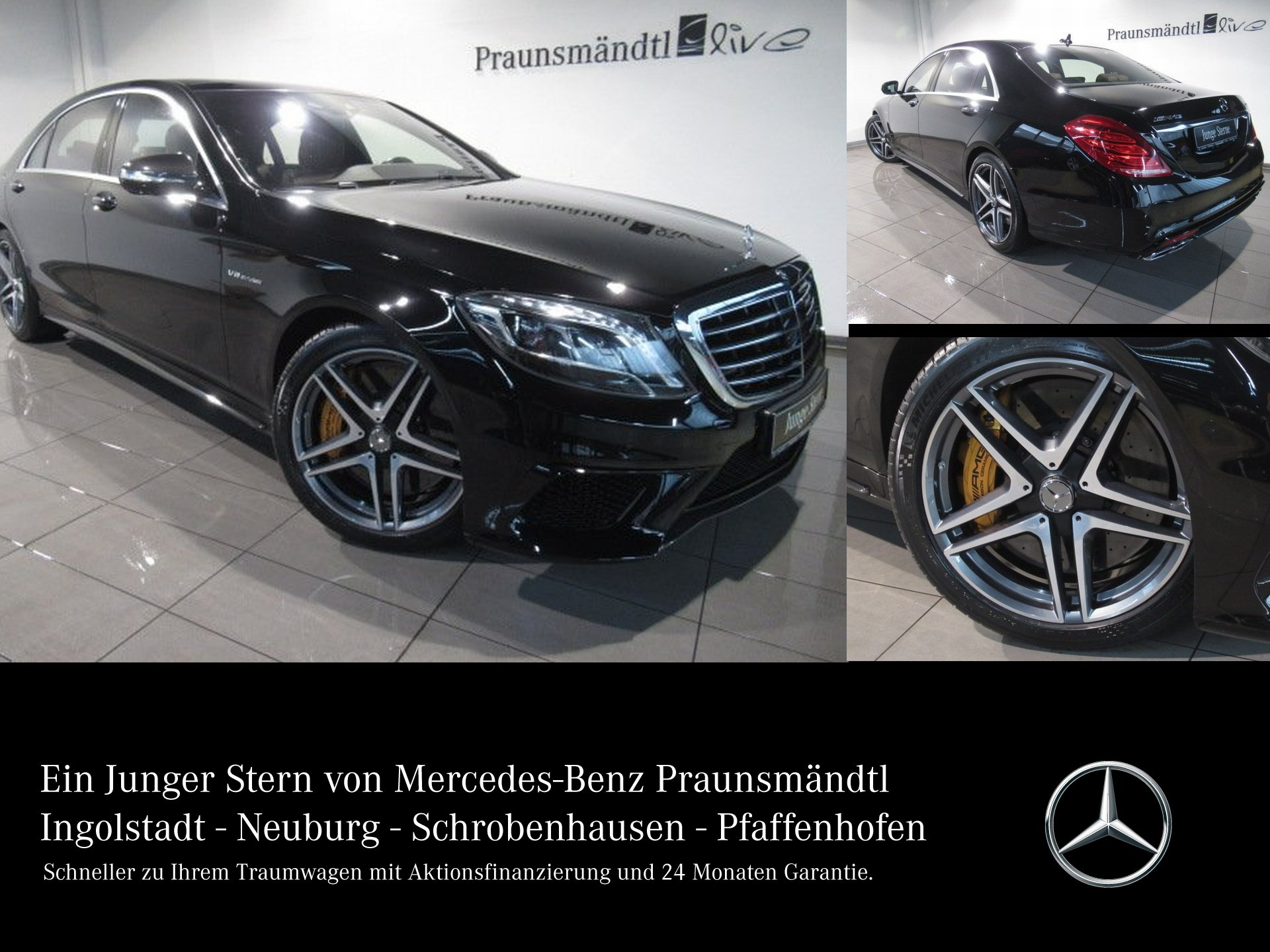 Mercedes-Benz S 63 AMG 4M L Keramik/Panor/Drivers/Exkl/NP:215`, Jahr 2016, Benzin