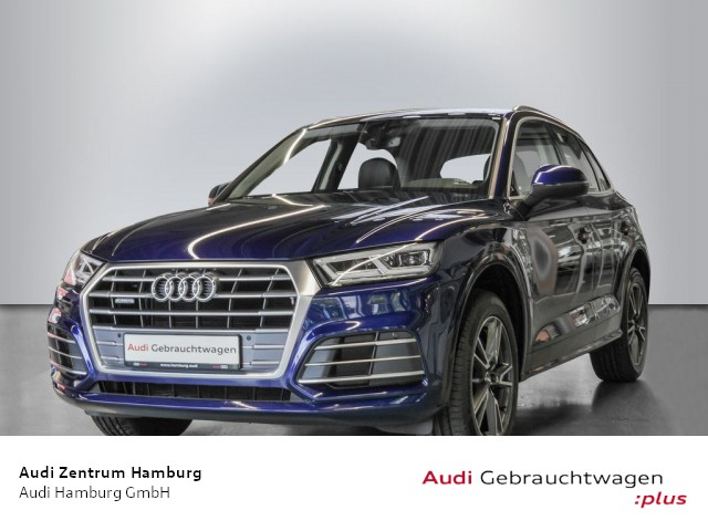 Audi Q5 2,0 TDI design quattro S tronic S LINE MATRIX STANDHZG, Jahr 2018, Diesel
