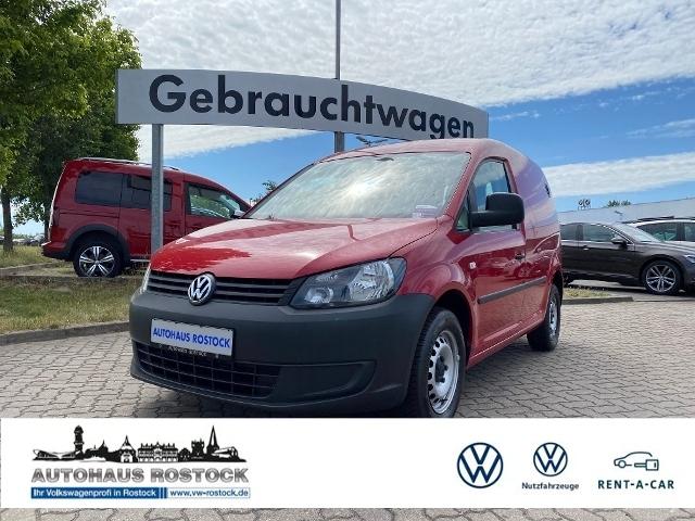 Volkswagen Caddy Kasten 2.0 EcoFuel EcoPro AHK ZV, Jahr 2014, Gas
