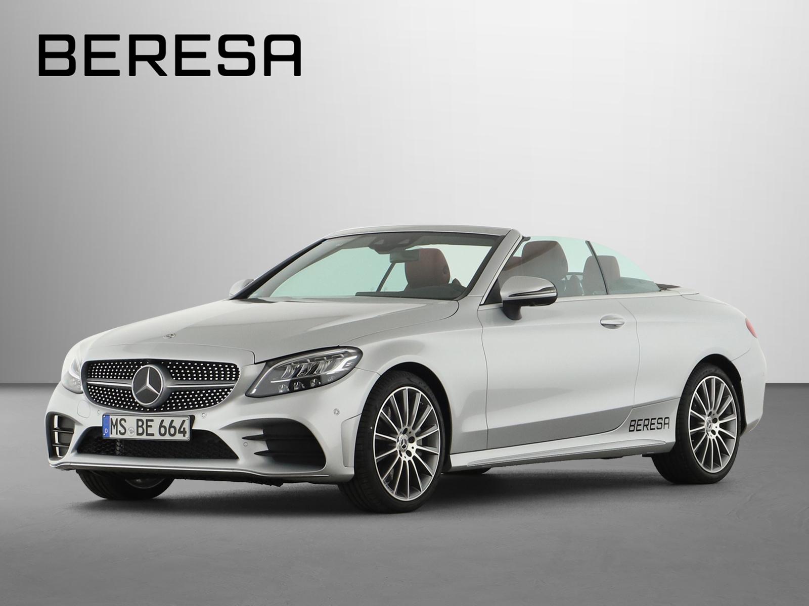 Mercedes-Benz C 400 4M AMG Sitzklima Designo Burmester, Jahr 2020, Benzin