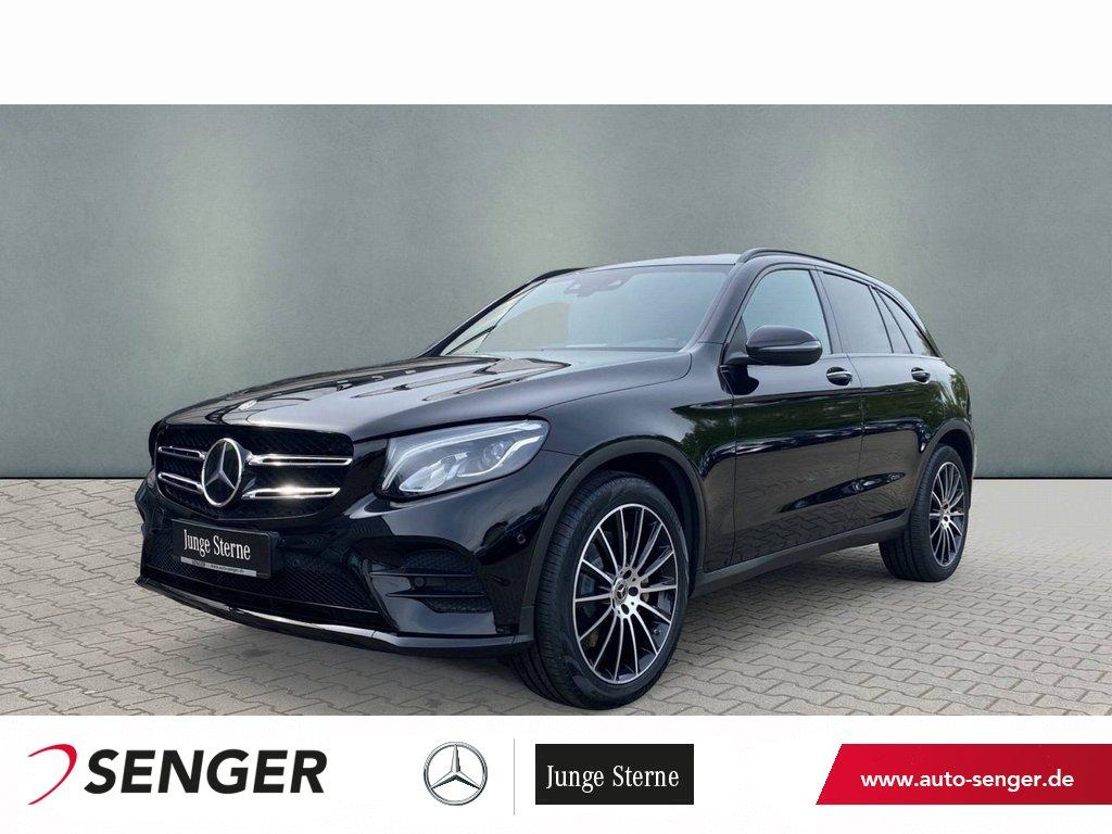 Mercedes-Benz GLC 300 4M AMG Line+Night-Paket+Distronic+Comand, Jahr 2018, Benzin