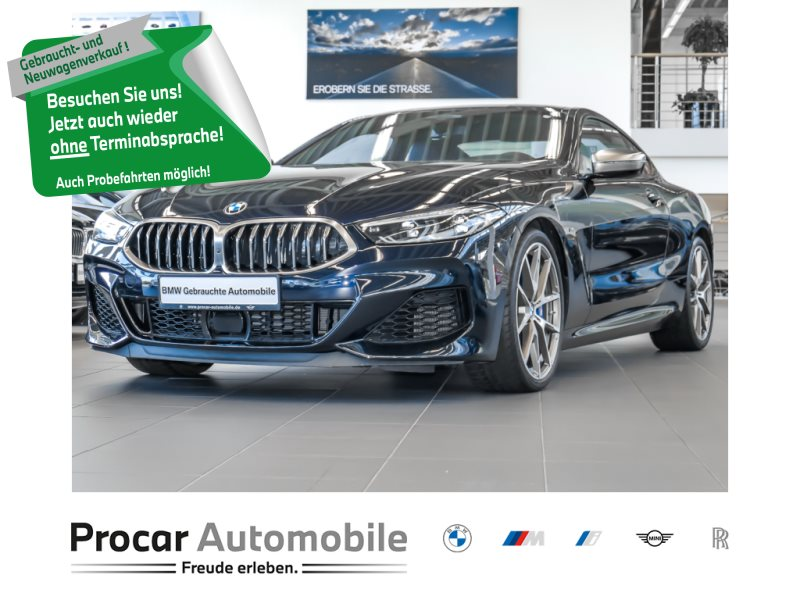 BMW M850i xDrive Coupé Head-Up DAB H/K Soft-Close, Jahr 2019, Benzin